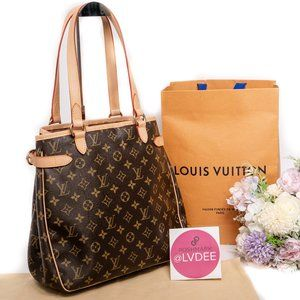 LOUIS VUITTON Batignolles Vertical Shopping Tote